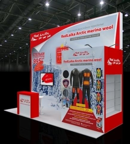 RedLaika - участник 38-ой выставки