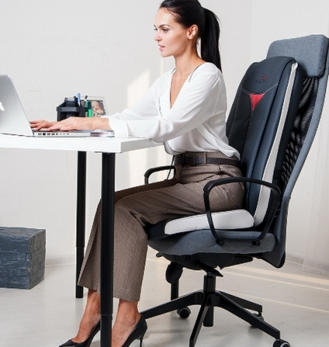 Массажные накидки на кресло для дома с массажем Шиацу