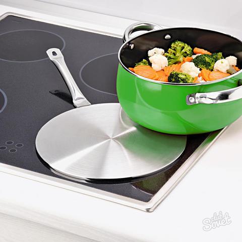 Рекомендации по использованию адаптера для индукционной плиты