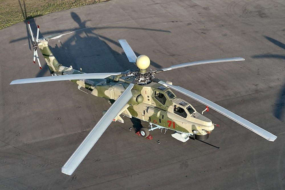 Тяжелый вертолет оснастили авионикой