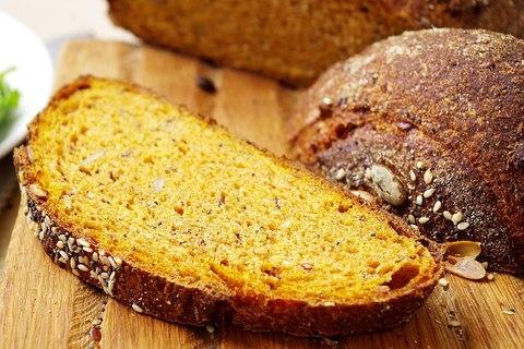 Тыквенный хлеб на закваске
