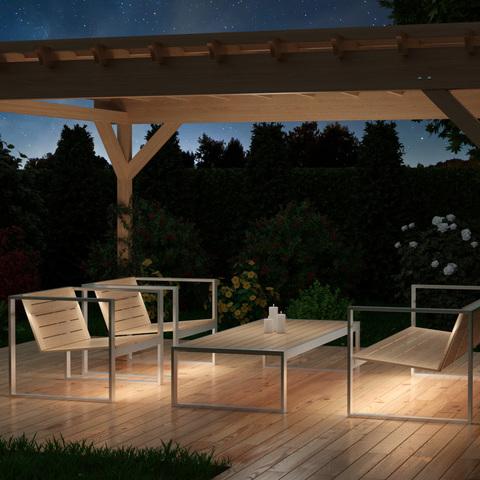 Изготовление МАФ (малых архитектурных форм) с LED подсветкой