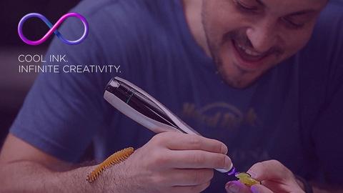 3Д ручка Creopop, которая не обжигает
