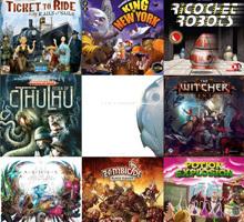 Молния! Новая поставка настольных игр на английском языке!