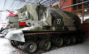Лазерный танк на стаже мира