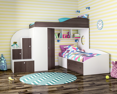 Заблуждения про детскую мебель