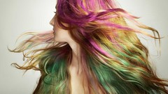 Change your hair color every day without harm!