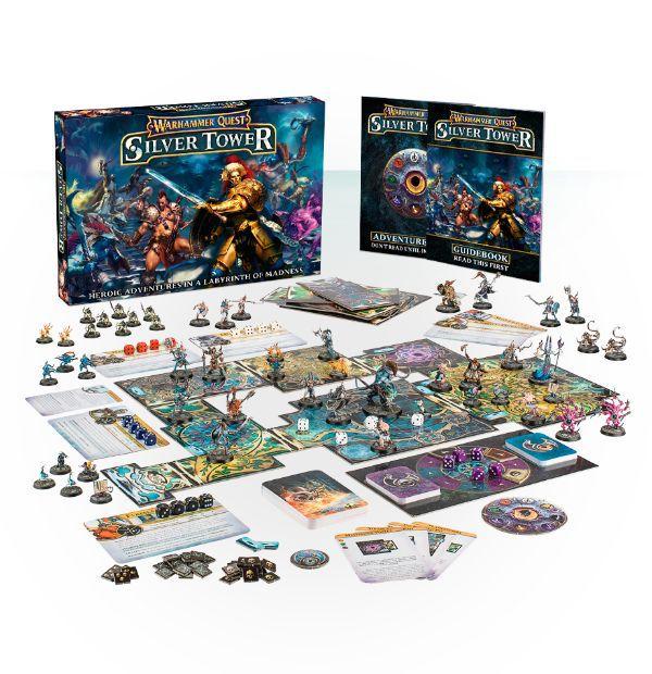 Предварительный заказ на Warhammer Quest: Silver Tower!
