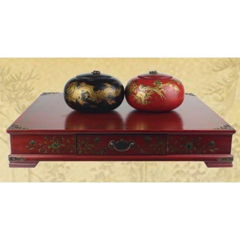 Лучший подарок для ценителей китайского стиля - комплект Го 19х19 в антикварном стиле