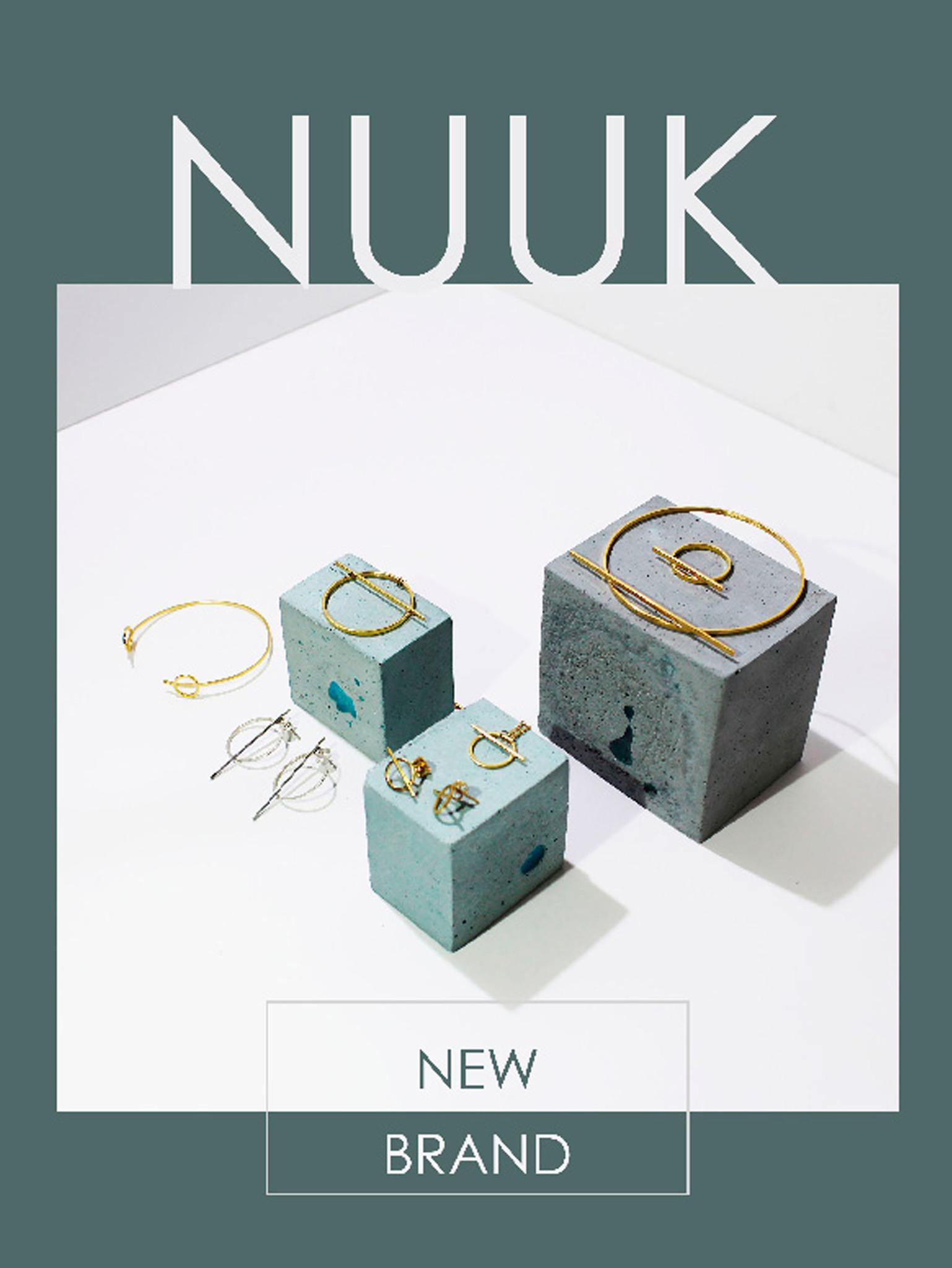 Коллекция серебряных украшений от португальского бренда NUUK в MODBRAND.ru