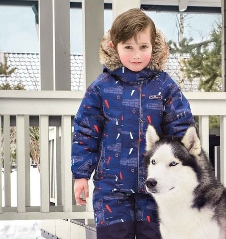Слитные комбинезоны Premont Зима: от 2 до 10 лет