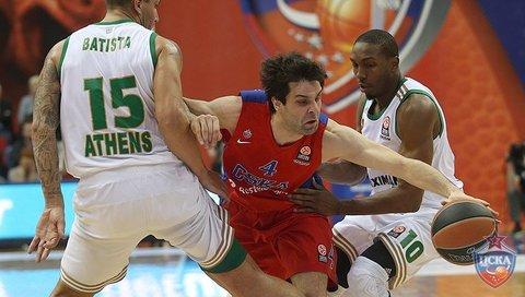 Spalding поздравляет БК ЦСКА с разгромной победой над «Панатинаикосом»