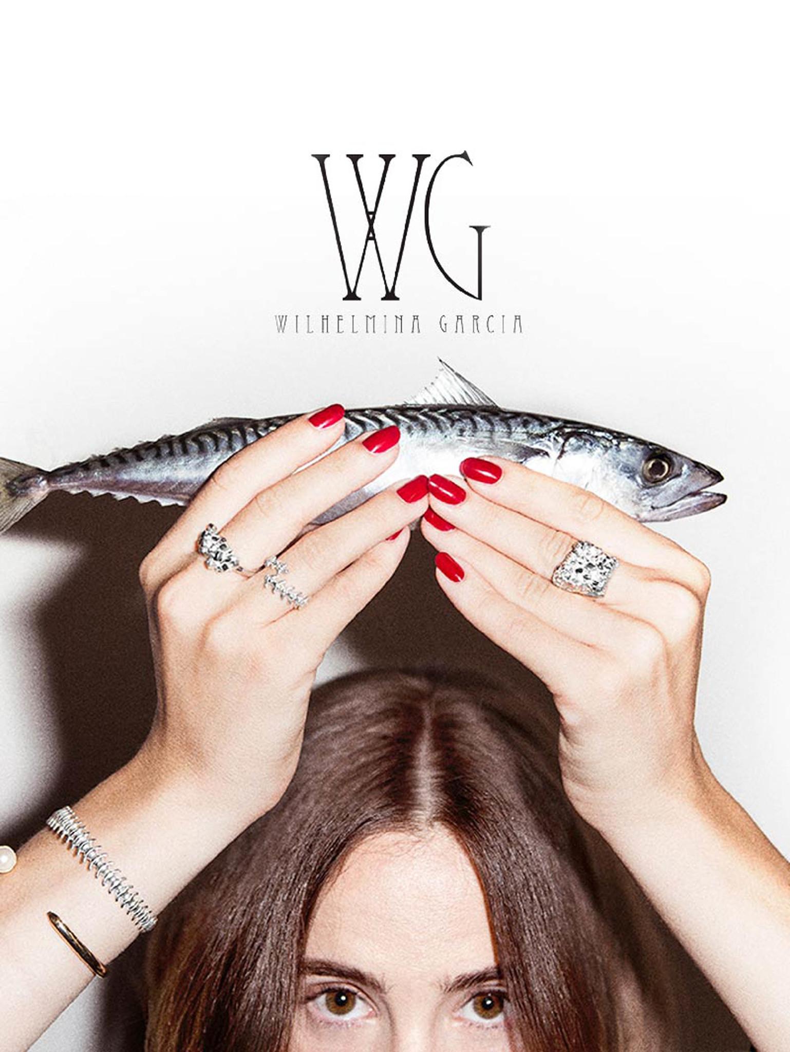 Новый испанский дизайнер Wilhelmina Garcia с коллекциями Cristallize и Fish Bones в MODBRAND.ru