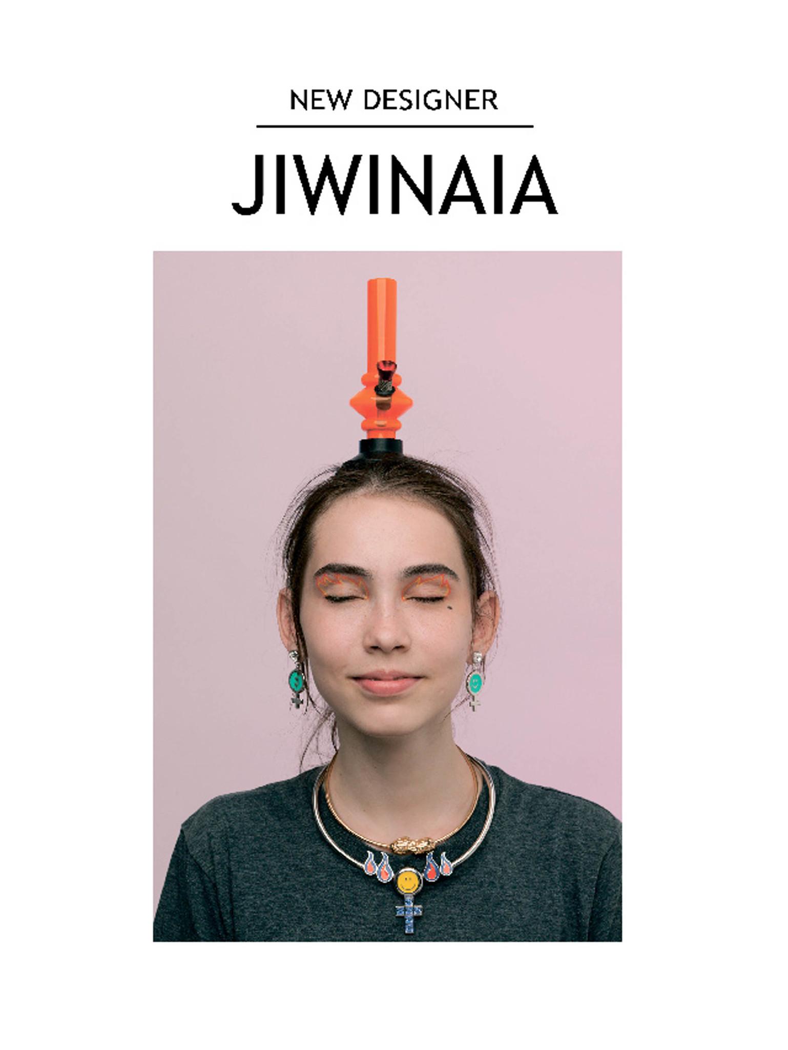 Новый дизайнер Jiwinaia с коллекцией