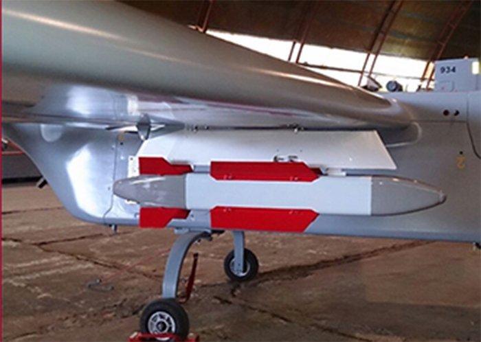 Опытные образцы дронов получили вооружение