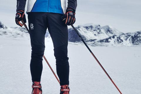 Как выбрать разминочные штаны для лыжников