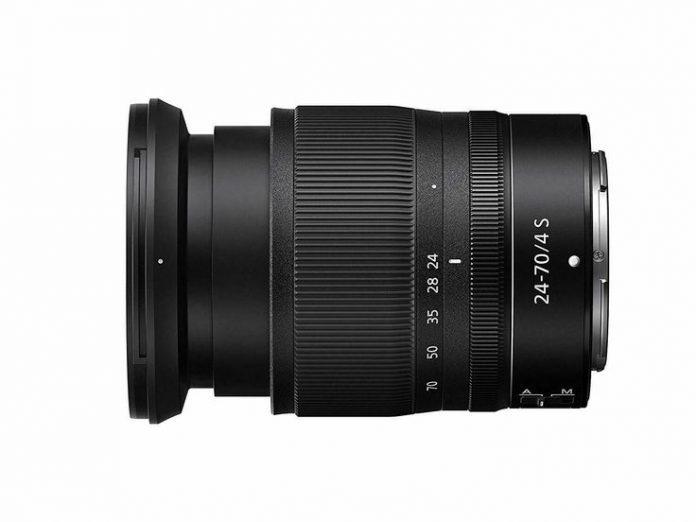 Обновлена прошивка объектива Nikkor Z 24-70mm F/4 S