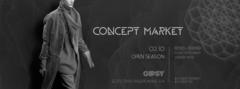 Concept Market 2 октября в клубе Gipsy