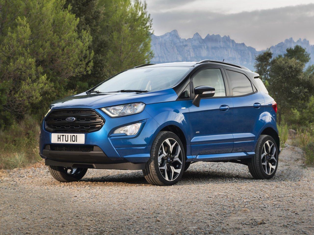 Новая модель чехлов Ford EcoSport с 2017 года