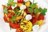 Рецепт приготовления сыра фета на гриле с овощами