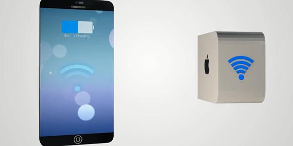 Компания Apple анонсирует свою беспроводную зарядку через несколько лет