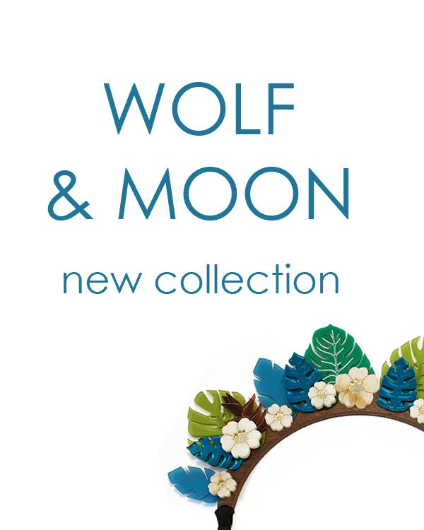 Новая коллекция украшений от английского бренда Wolf&Moon