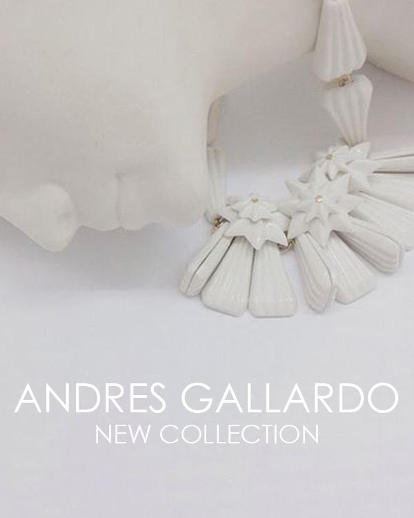 Новая коллекция украшений от ANDRES GALLARDO сезона 2014/15