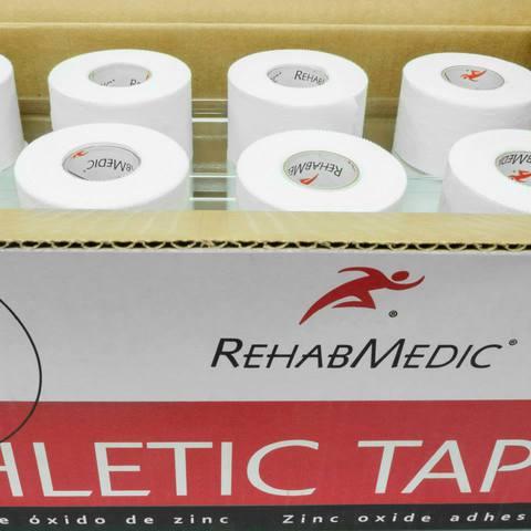 Почему в рулоне атлетического тейпа Rehab Medic 10 метров?