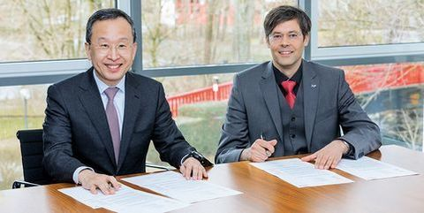 "Webasto and Samsung SDI Sign ""Letter of Intent"""