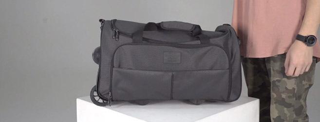 Видео обзор сумки на колесах Таллин - Bagland