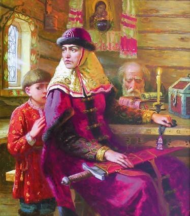 Марфа Борецкая: новгородская вольница