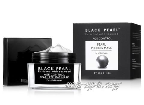Обзор Жемчужной очищающей пилинг-маски Sea of SPA линия Black Pearl
