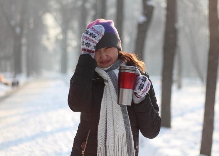 Зима наступила! Всем греться чаем!