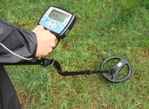 Поиск с металлоискателем Minelab X-Terra 705