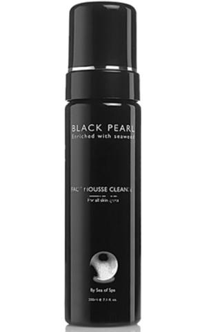 Обзор Очищающего мусса для лица Black Pearl от Sea of SPA
