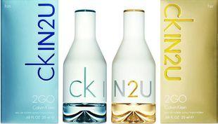 Снова в продаже два супер аромата доя него и для нее от Calvin Klein - CK IN2U Him и  Ck in 2u her!
