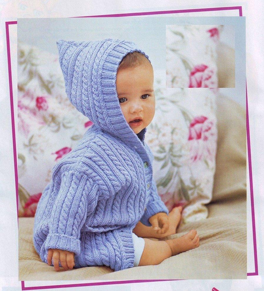 Утепляем малышей красиво ЧАСТЬ 2 - вязаные детские пальто!