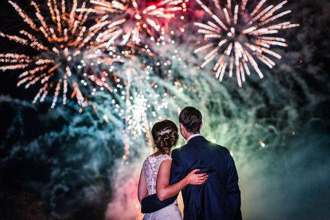 Лучшие фейерверки для свадьбы