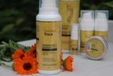 Очищающий мусс для кожи стоп - ваше приглашение в мир Golden Trace!
