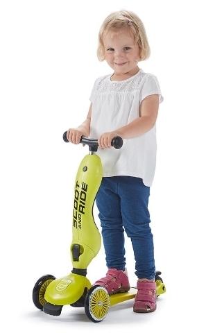Как выбрать трехколесный самокат для ребенка?