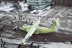 Транспортный Ил-112В – платформа для новой техники