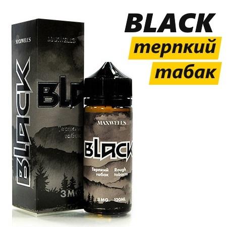 Black - терпкий вкус табака от Maxwells