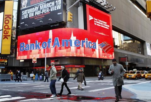 Bank of America  выигрывает патент на систему обмена криптовалют