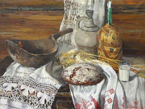 Хлеб бабушек наших бабушек