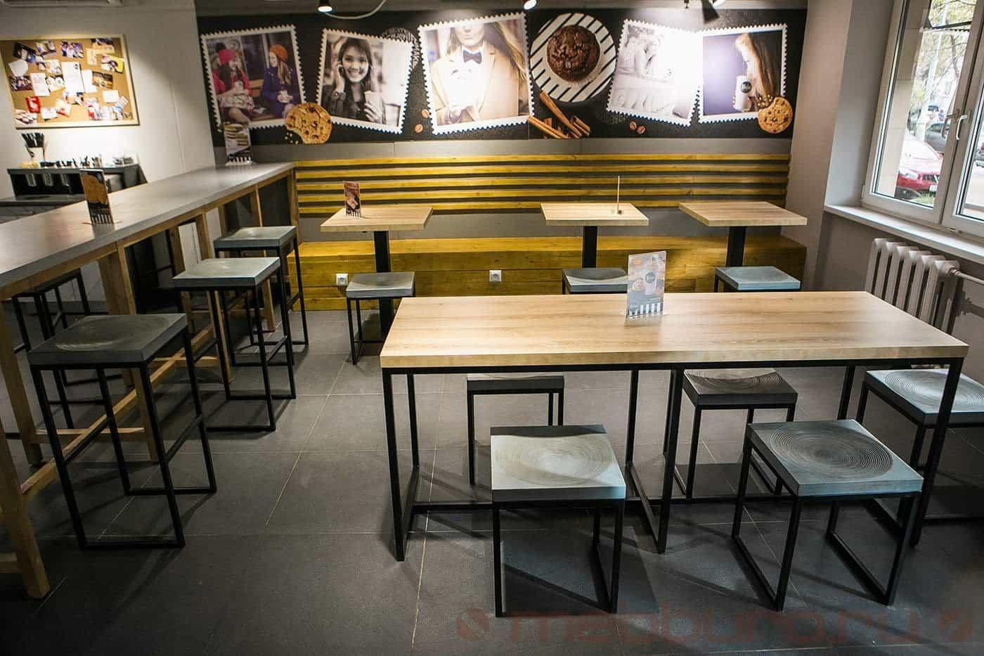 Торговая мебель для кафе