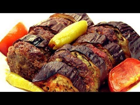 Кебаб в баклажане по-турецки
