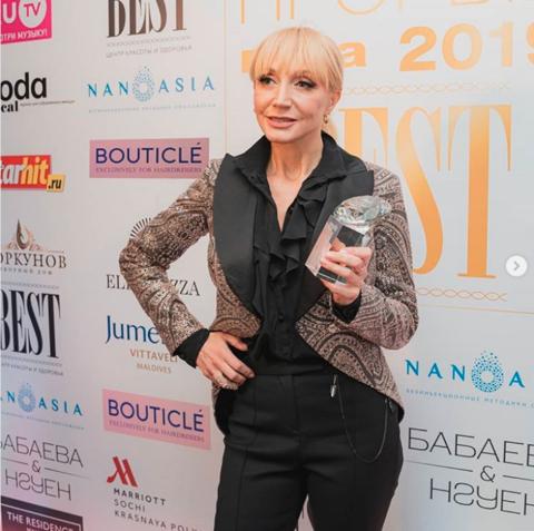Звездная премия от журнала Оксаны Федорой