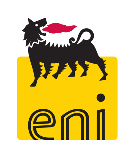 История логотипа Eni с 1953 по 1998 год