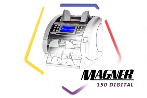 Cчетчик банкнот magner 150 digital - Уход легенды