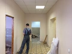 На Поленова 27 в Заокском начаты строительные работы